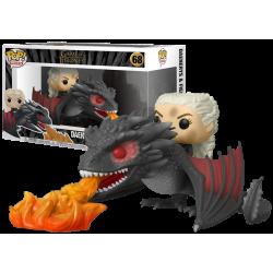 Funko Pop Rides 68 Daenerys on Fiery Drogon