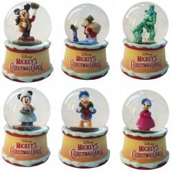 Mickey's Christmas Carol Snow Globec (Set of 6)