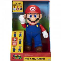 Super Mario Talking Action Figure-12 Inches Tall