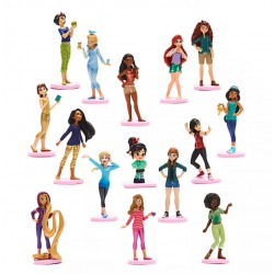 Disney Princess Deluxe Figurine Playset, Ralph Breaks the Internet
