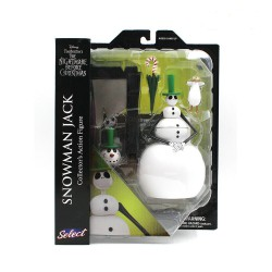 Nightmare before Christmas Select Snowman Jack Action Figure 18 cm Series 7