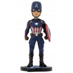 NECA Avengers: Endgame Head Knocker Bobble-Head Captain America 20 cm