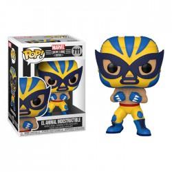 Funko Pop 711 El Animal Indestructible (Wolverine), Marvel Lucha Libre
