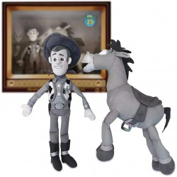 Woody and Bullseye Plush Set – Toy Story 25th Anniversary – Limited Release