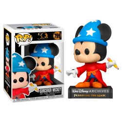 Funko Pop 799 Sorcerer Mickey, Mickey Mouse Archives