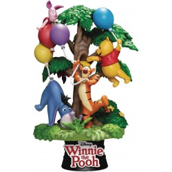 Beast Kingdom Disney's Winnie The Pooh with Friends D-Stage Statue