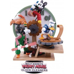 Beast Kingdom Disney Mickey Mouse Clock Cleaners D-Stage Series Statue