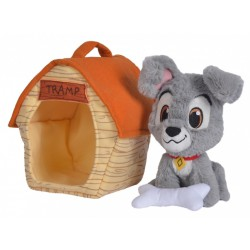 Disney Tramp in Doghouse Plush
