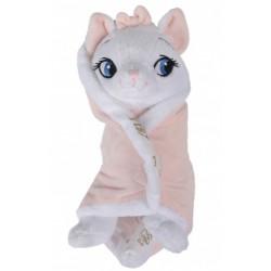 Disney Marie in Blanket Plush