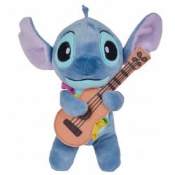 Disney Stitch Aloha Plush with Guitar