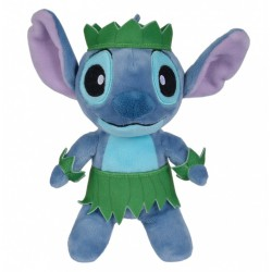 Disney Stitch Aloha Plush in Leafy Outfit