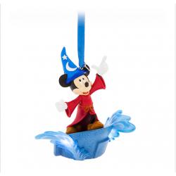 Disney Mouse Mouse Scorcerer Light-Up Ornament