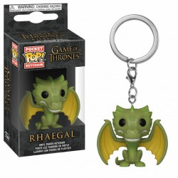 Funko Pocket Pop Keychain Rhaegal, Game Of Thrones