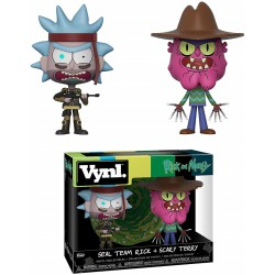 Vinyl Duo Rick & Morty 2-Pack Seal Team Rick + Scary Terry