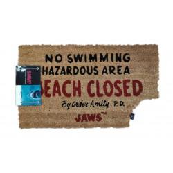 Jaws: Beach Closed Doormat