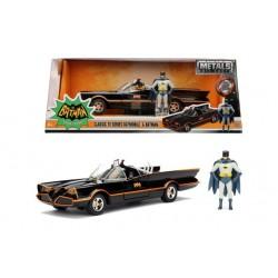 DC Comics: Batman 1966 - Classic Batmobile and Batman 1:24