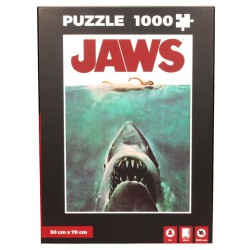 Jaws Puzzle Movie Poster
