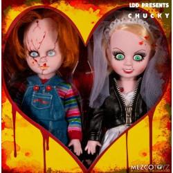 Living Dead Chucky & Tiffany Doll Set 25 cm