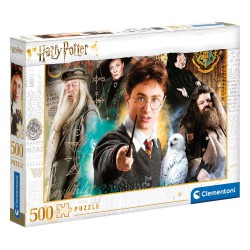 Harry Potter Jigsaw Puzzle Harry at Hogwarts (500 pieces)