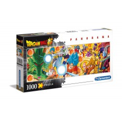 Dragon Ball Z Super Panorama Puzzle Characters