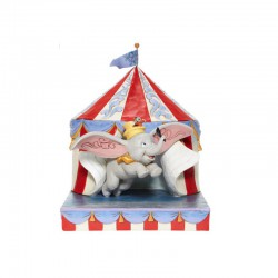 Disney Traditions - Dumbo Flying out of Tent Scene