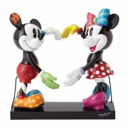 Disney Britto - Mickey and Minnie Mouse Figurine