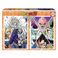 Dragon Ball Z puzzle 2x500pcs