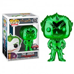 Funko Pop 53 The Joker (Special Edition Green Chrome)