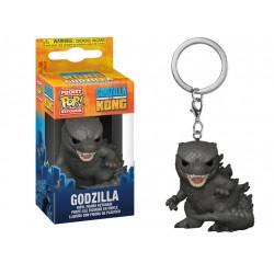 Godzilla Vs Kong Pocket POP! Vinyl Keychain 4 cm Godzilla