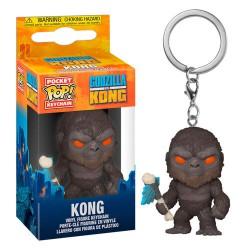 Godzilla Vs Kong Pocket POP! Vinyl Keychain 4 cm King Kong with Axe