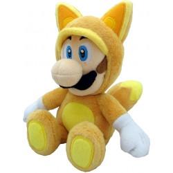 Super Mario Bros.: Kitsune Luigi Plush 23cm