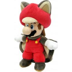 Super Mario Bros: Flying Squirrel Mario Plush 23cm