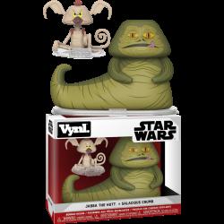 Vynl Duo - Jabba The Hutt and Salacious Crumb, Star Wars