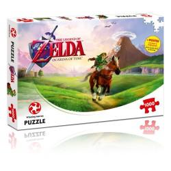 Legend of Zelda Jigsaw Puzzle Ocarina of Time (1000 pieces)