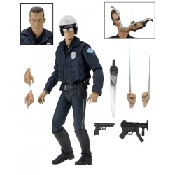 Terminator 2 Action Figure Ultimate T-1000 (Motorcycle Cop) 18 cm