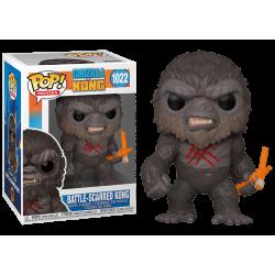 Funko Pop 1022 Battle-Scarred Kong, Godzilla vs Kong