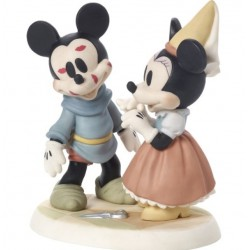 Precious Moments Brave Little Tailor Mickey Mouse Gets Kisses
