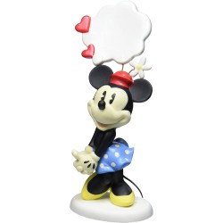 Precious Moments My Thoughts are Filled with You Minnie Mouse Figurine