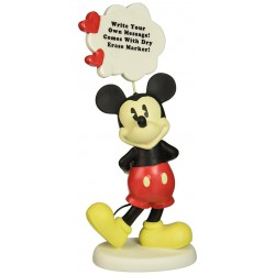 Precious Moments My Thoughts Are Filled With You Mickey Mouse