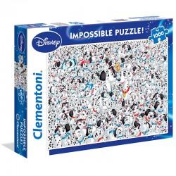 Disney 101 Dalmatians Impossible puzzle 1000pcs