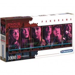 Stranger Things Panorama puzzle 1000pzs