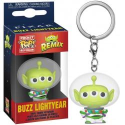 Toy Story Pocket POP! Vinyl Keychain Alien as Buzz Lightyear, Toy Story Alien Remix