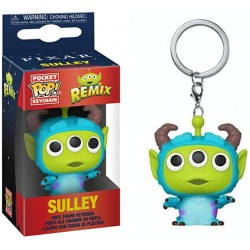 Pixar Pocket POP! Vinyl Keychain 4 cm Alien as Sulley, Toy Story Alien Remix