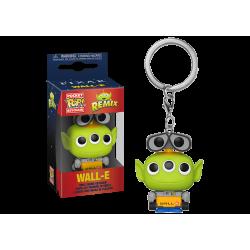 Pixar Pocket POP! Vinyl Keychain 4 cm Alien as Wall-E , Toy Story Alien Remix