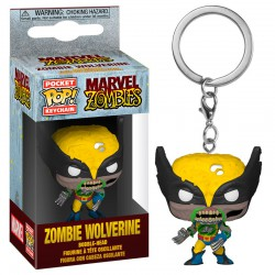 Marvel Pocket POP! Vinyl Keychain Zombie Wolverine