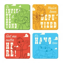 Disney: Toy Story - Characters Set of 4 Coasters