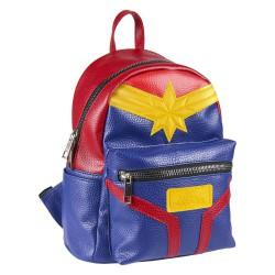 Captain Marvel Casual Fashion Backpack Suit 22 x 23 x 11 cm