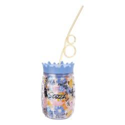 Lilo & Stitch Cup & Straw Stitch