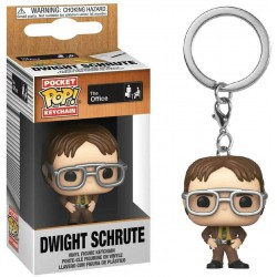 The Office US Pocket POP! Vinyl Keychain Dwight Schrute 4 cm