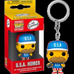 Simpsons Pocket POP! Vinyl Keychain 4 cm USA Homer